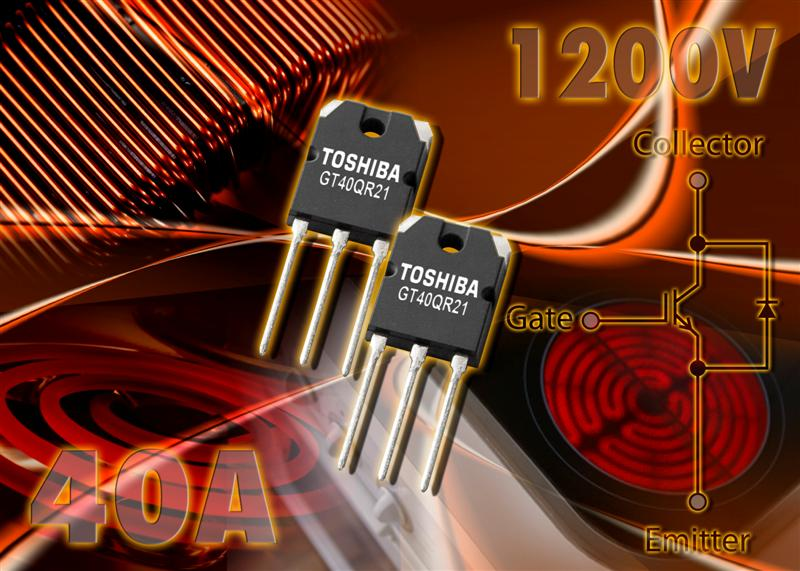 Toshiba Electronics launches new compact, integrated IGBT technology for induction heating