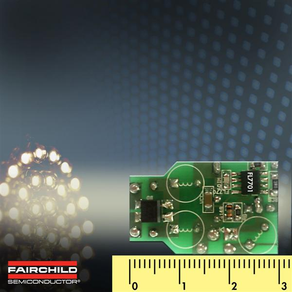 Fairchild Semiconductor's Smart LED Lamp Driver IC Solves Small-Space Dimming Challenges for Designers