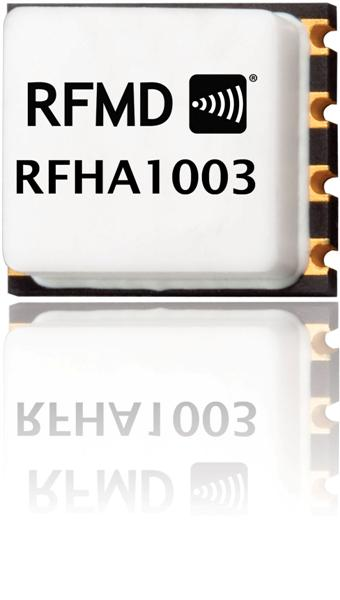 RFHA1003 30MHz TO 512MHz, 9W GaN Wideband Power Amplifier