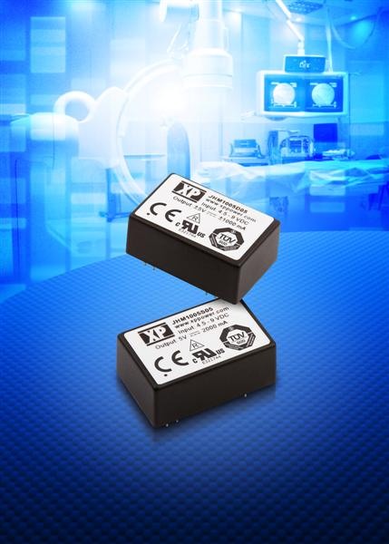 Compact 10 W DC-DC converter meets 3rd edition IEC60601 medical specification for patient connected equipment