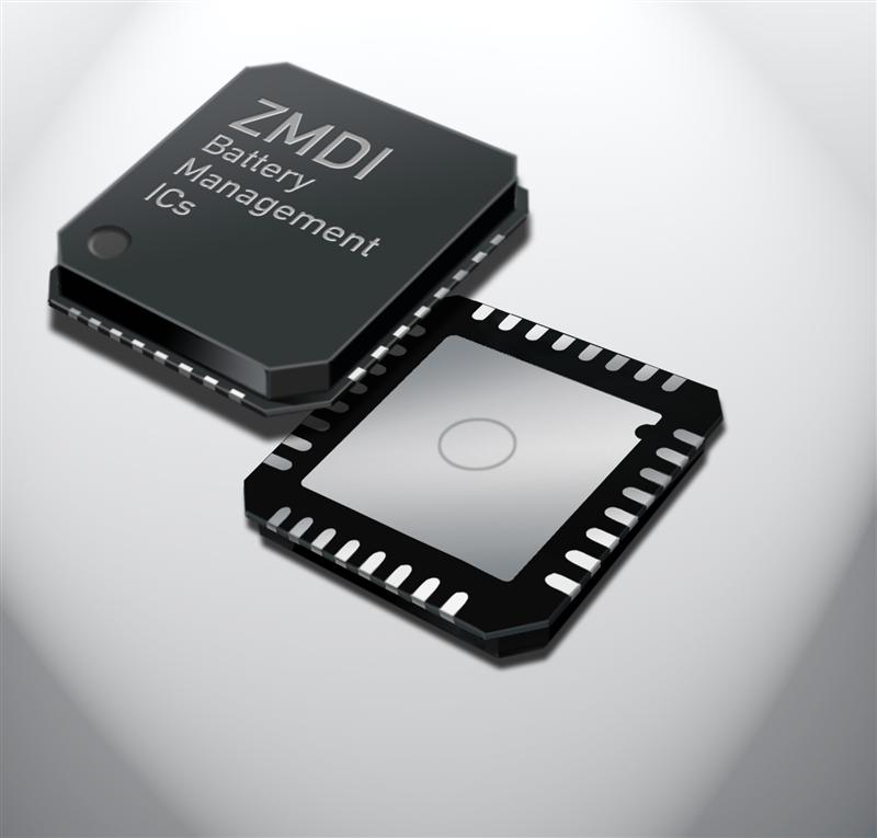 ZMDI announces industry's smallest intelligent battery sensor IC with unique ADC resolution and lowest sleep mode current