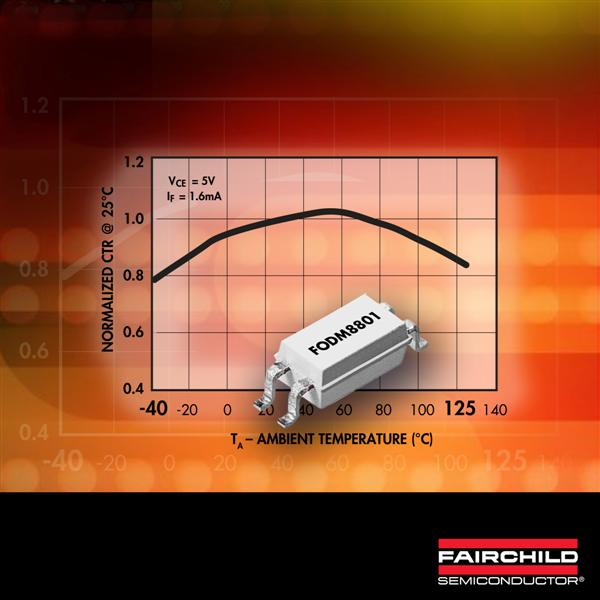 Fairchild Semiconductor's OptoHiT™ Series Provides Designers Increased Design Margins in High Temperature Industrial Applications