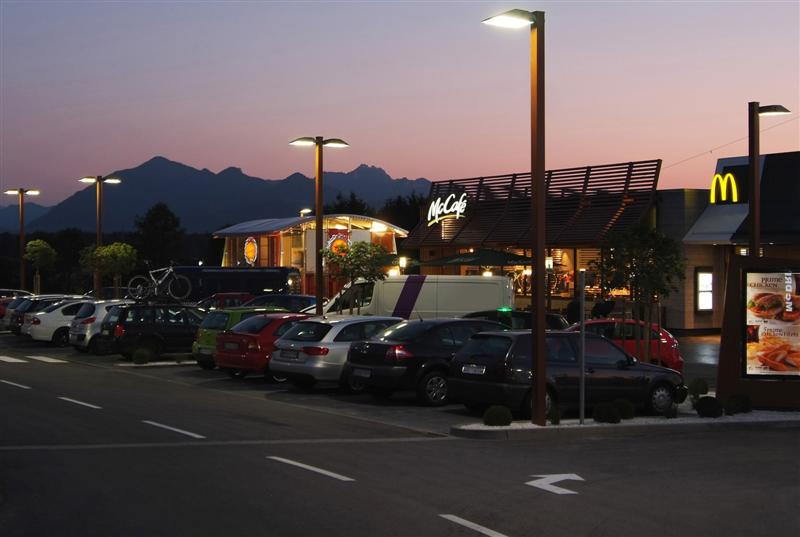 OSRAM illuminates McDonald's outdoor facilities with LEDs