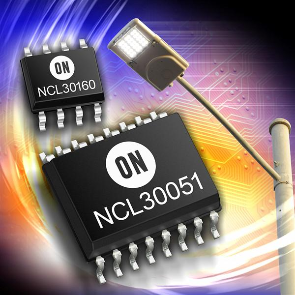 ON Semiconductor introduces highly optimised LED lighting chipset