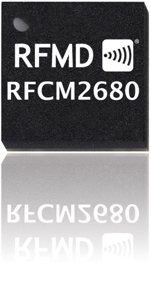 RFCM2680 GaN CATV Surface Mount Power Doubler Module