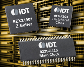 IDT Introduces Industry's Most Complete and Lowest-power Timing Solution for Intel's Romley Server Platform