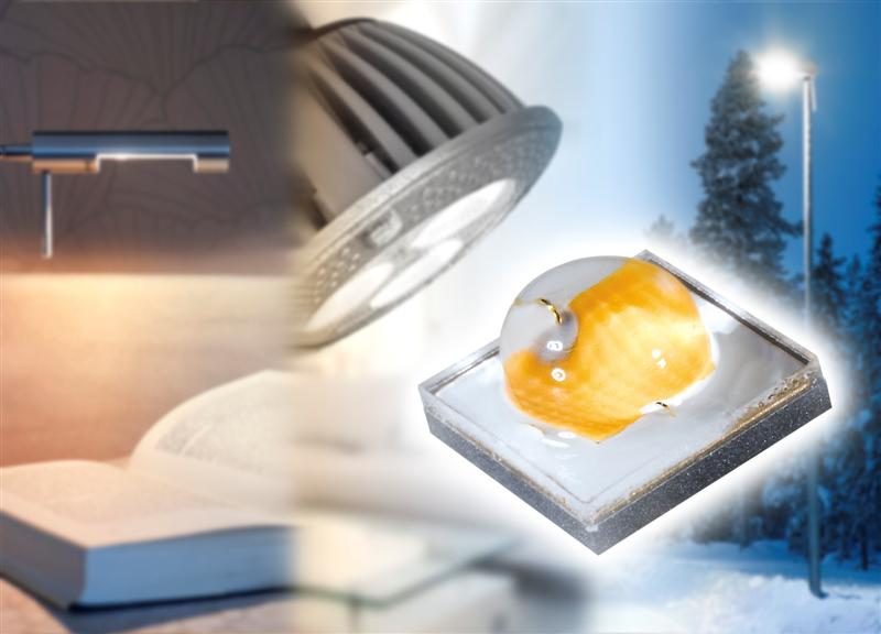 Oslon Square from OSRAM Opto Semiconductors makes even better use of light