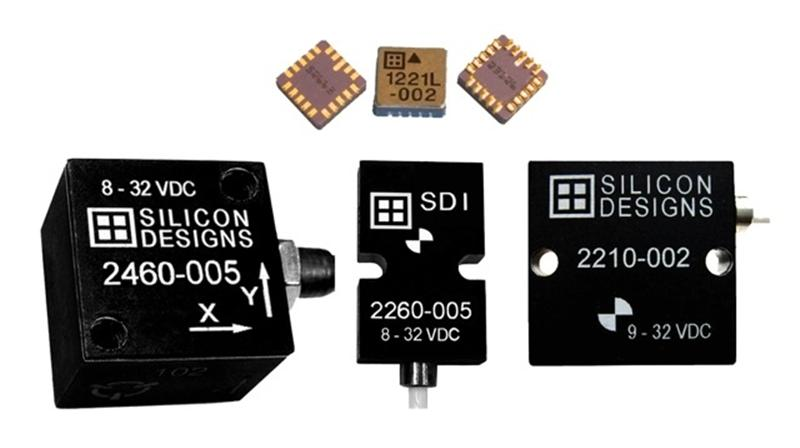 Silicon Designs Introduces New Low-g Range Series