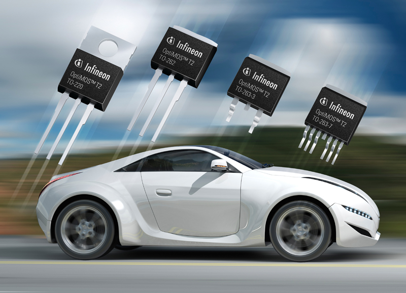 Infineon Introduces Automotive Qualified 100 Percent Lead-free Power MOSFETs in Standard TO Package Types