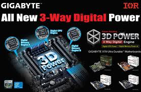 IR's True Digital Power Solution Features on All New 3-Way Digital GIGABYTE™ 3D Power™ X79 Motherboard Platforms