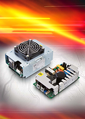 XP Power launches 250/350 W range of AC-DC supplies in ultra compact 3 x 5 inch footprint