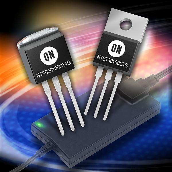 ON Semiconductor's new family of trench-based low forward voltage Schottky rectifiers deliver improved switching efficiency