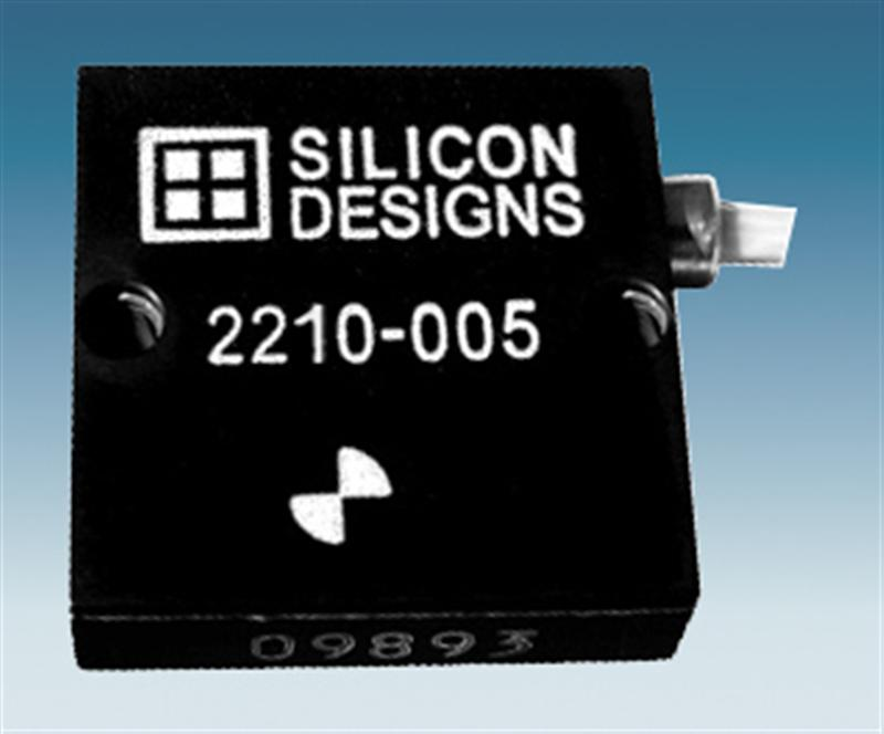 Silicon Designs Adds �5 g MEMS Capacitive Accelerometer Modules