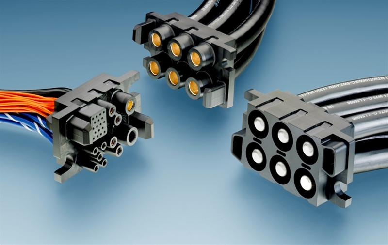 TE Connectivity launches new customizable Forge Power Drawer connector for high-voltage applications up to 1000V