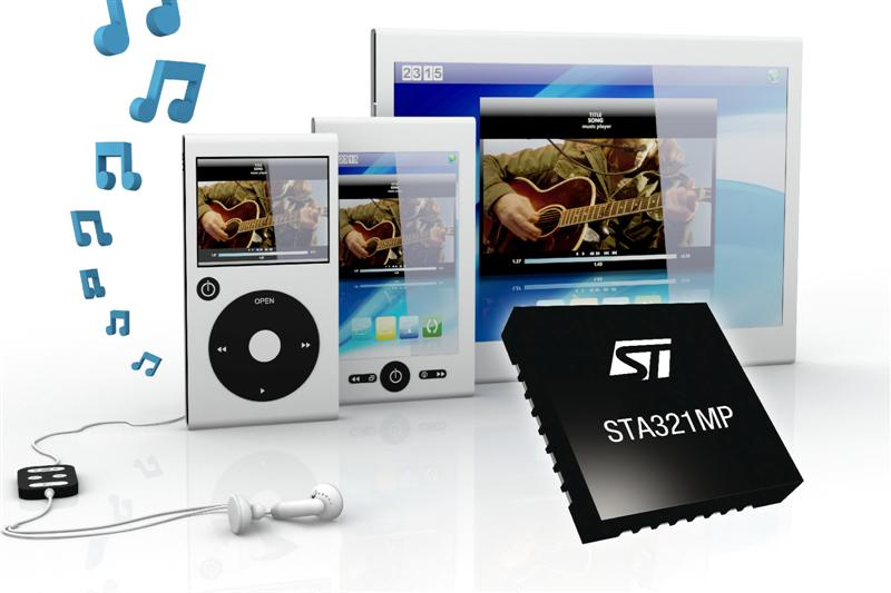 Smart Voice Processors from STMicroelectronics