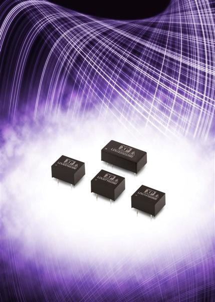 XP Power extends line-up of miniature board mounted LED drivers