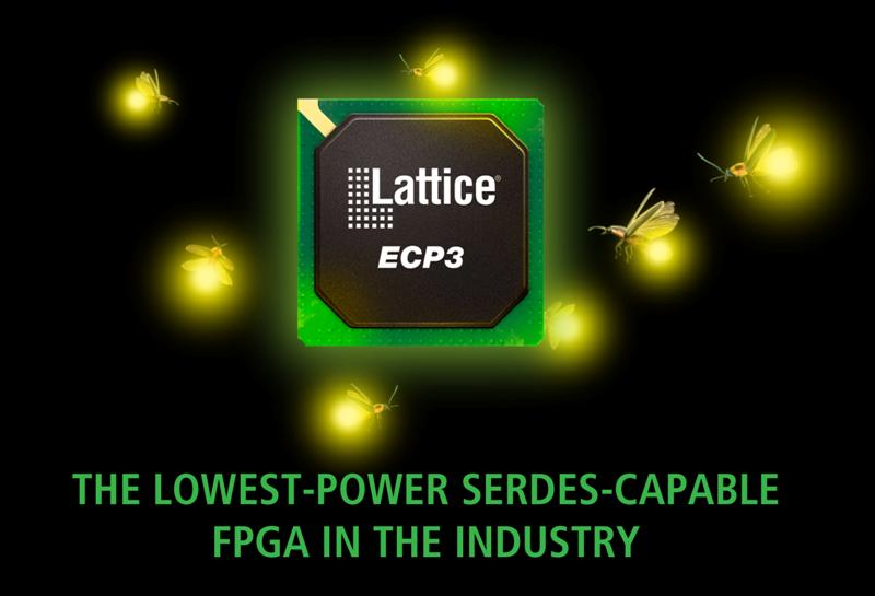 Three New Devices Extend the Power Efficiency, Package Size, and Performance of the popular LatticeECP3™ FPGA family