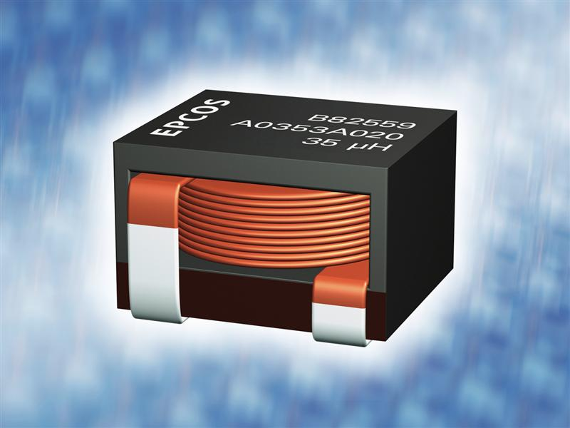 Inductors: Compact storage chokes for high currents from TDK-EPC Corporation