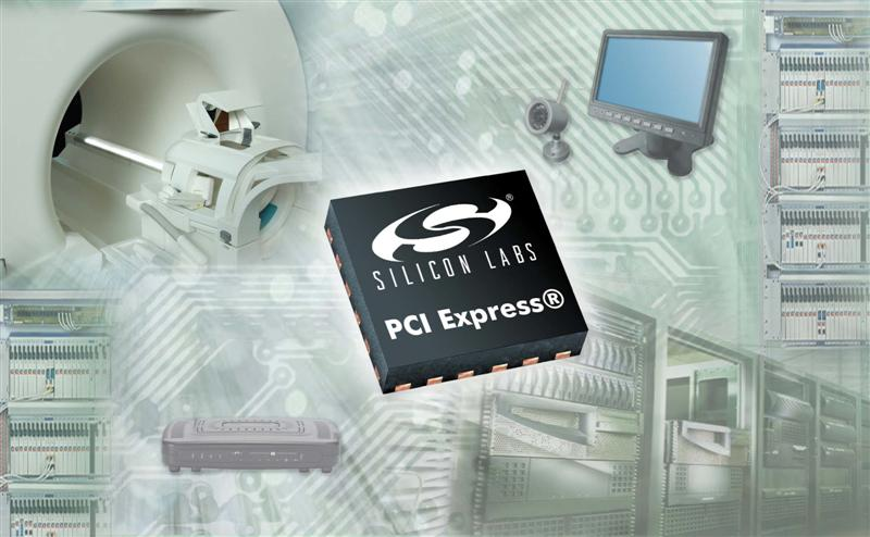 Silicon Labs Announces Industry's Broadest Choice of PCI Express Timing Devices