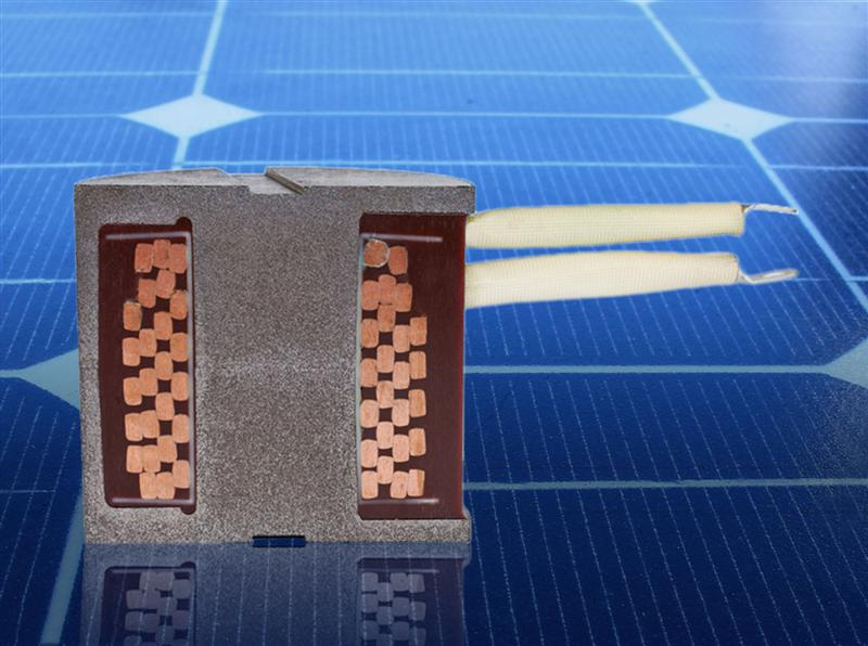 Highly efficient -Low-loss inductors for solar power inverters