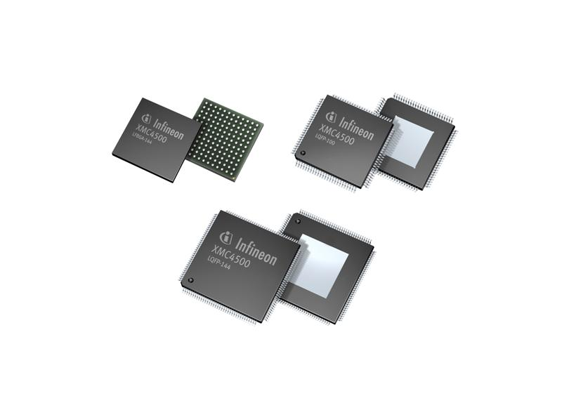 New Infineon 32-bit Microcontroller Family XMC4000 for Industrial Applications Combines Powerful Application-optimized Peripherals and ARM® Cortex™-M4 processor