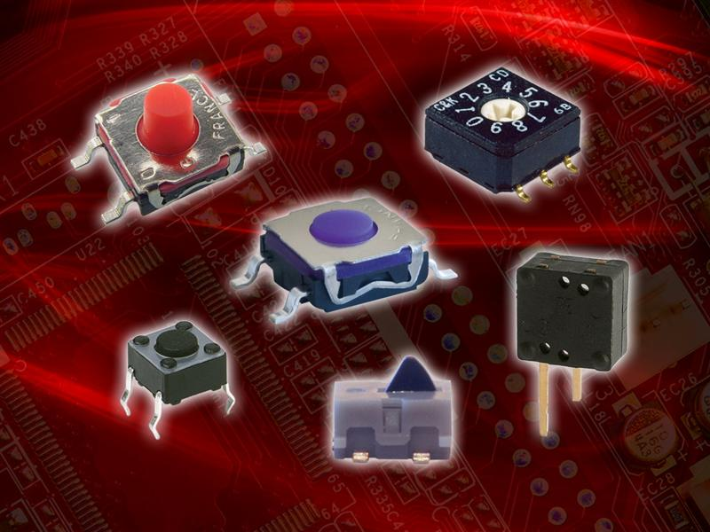 Miniature Switches from C&K Components Deliver High-Reliability, High-Performance in Smart Meter Applications