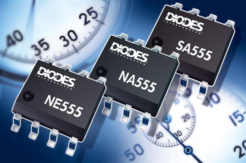 Diodes Incorporated Introduces Drop-in Replacements for Industry Standard 555 Timer ICs