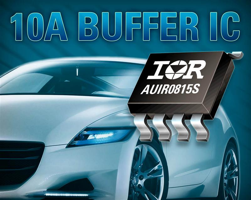 IR's Compact AUIR0815S Automotive-qualified Gate Drive IC Shrinks and Simplifies Power Train Design in Hybrid and Electric Vehicles
