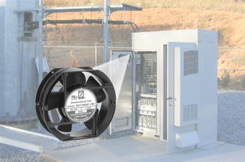 AC and DC fans now available for high dust and moisture environments