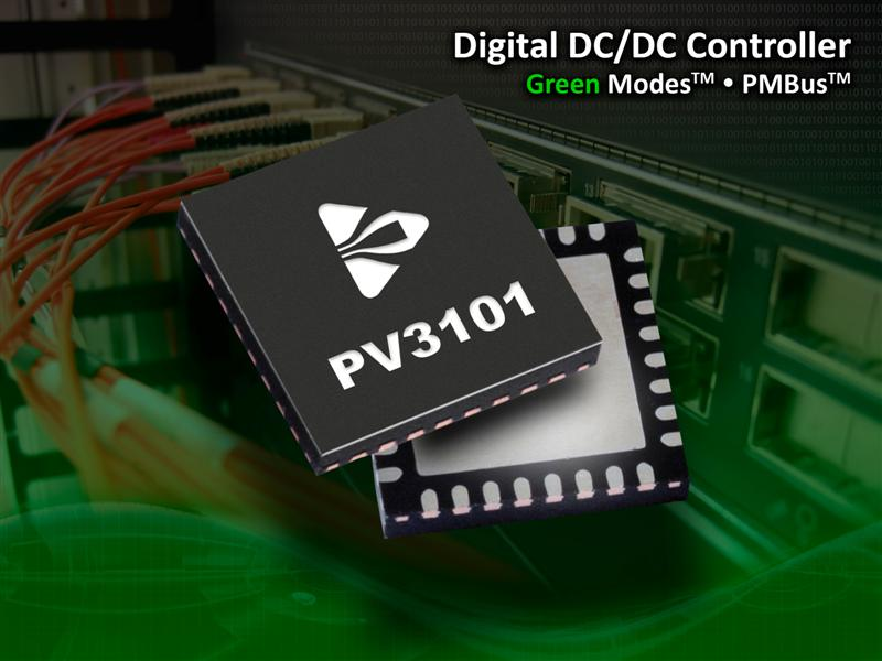PMBus™ Compliant Synchronous Buck Controller from Powervation Provides Real-Time Adaptive Loop Compensation & Power Saving Modes