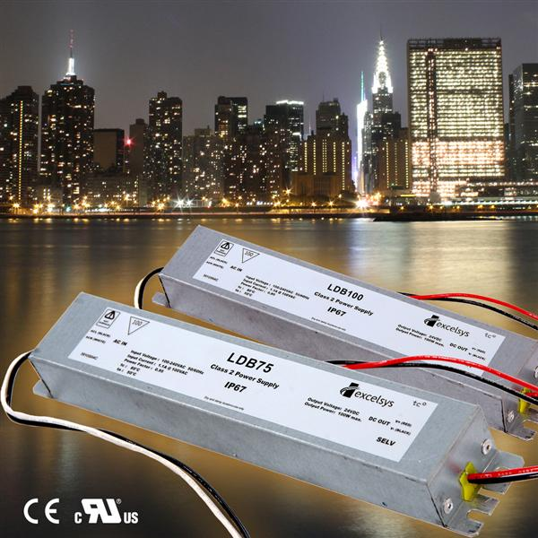 New LED Power Supplies from Excelsys offer lowest profile on the market