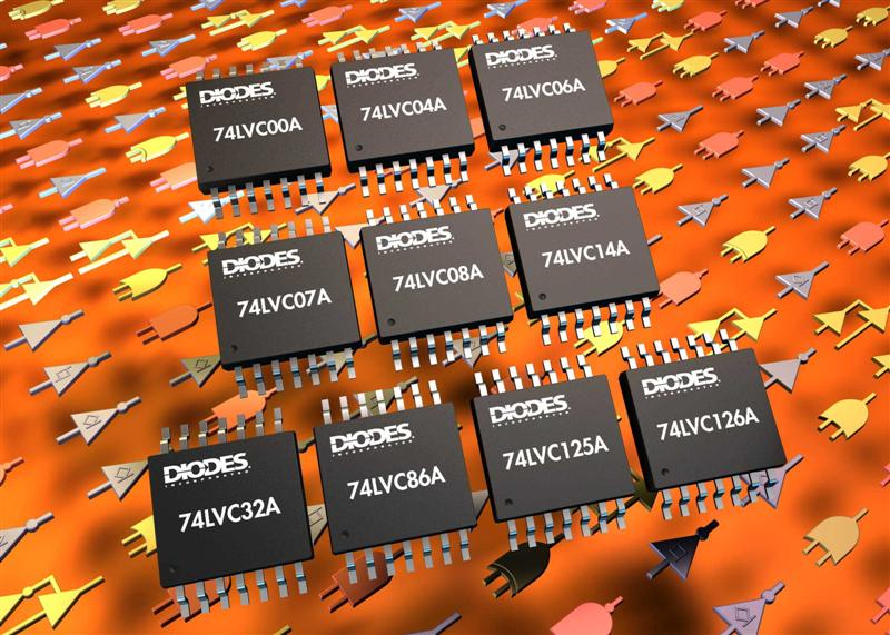 Diodes Inc. Expands General-Purpose Low-Voltage CMOS Logic Family for Wide Application Range