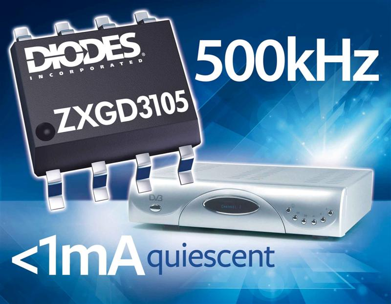 MOSFET Controller from Diodes Incorporated Enables PSUs to Exceed Energy Star Efficiency Goals