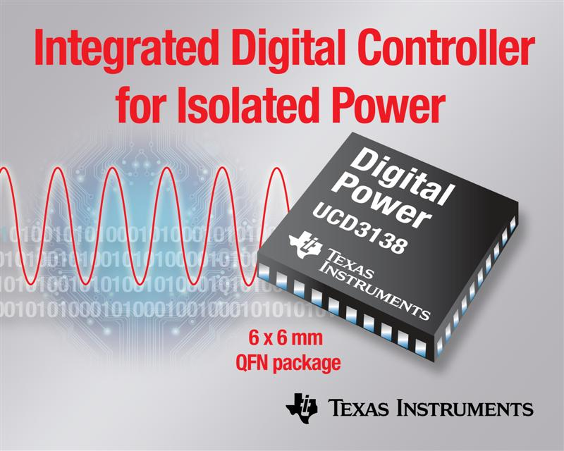 TI introduces next-generation digital power controller
