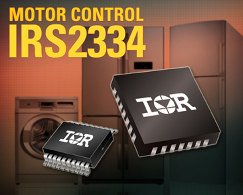 IR launches compact 600V ICs for Energy Efficient Inverterized Motor Drive Applications