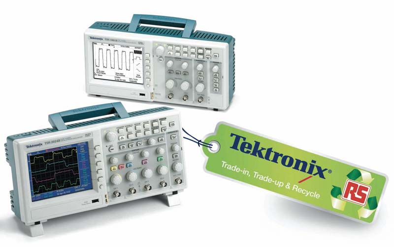 RS Components launches exclusive trade-in offer on Tektronix test and measurement equipment