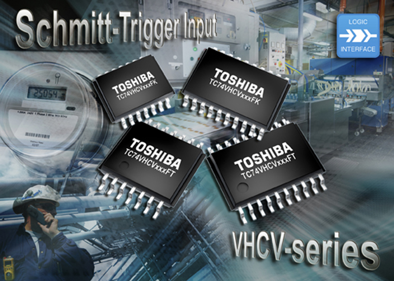 Toshiba Electronics expands CMOS logic IC family with new output power down protection and Schmitt trigger input series