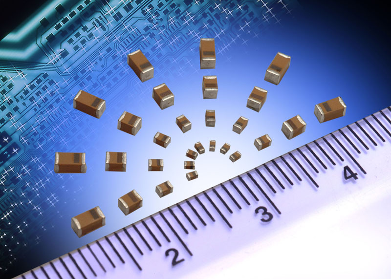 Tantalum chip capacitors from AVX now deliver higher CV than X5R dielectric ceramic devices