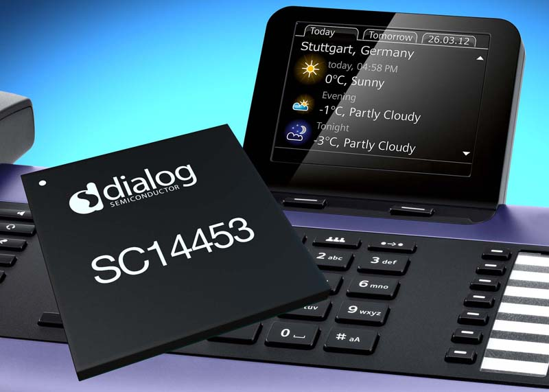 Dialog Semiconductor Extenda Green VOIP IC Family to Address High End Phones
