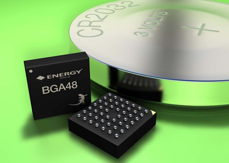 Energy Micro adds new ultra-compact BGA48 package to Gecko range for space-constrained applications