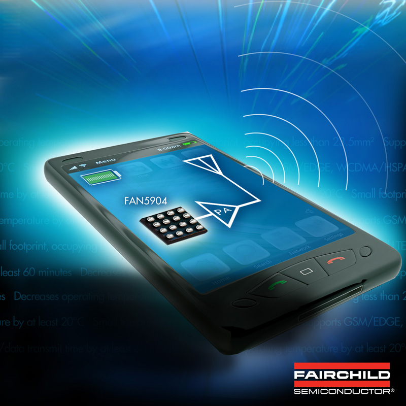 Fairchild Semiconductor's High Efficiency, High Power Buck Converter Helps Mobile Designers Reduce Power Consumption; Increase Talk/Data Transmit Time