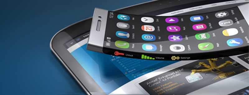 Atmel Unveils XSense - Revolutionary Flexible Touch Sensors that Enable a New Era of Capacitive Touchscreen Designs