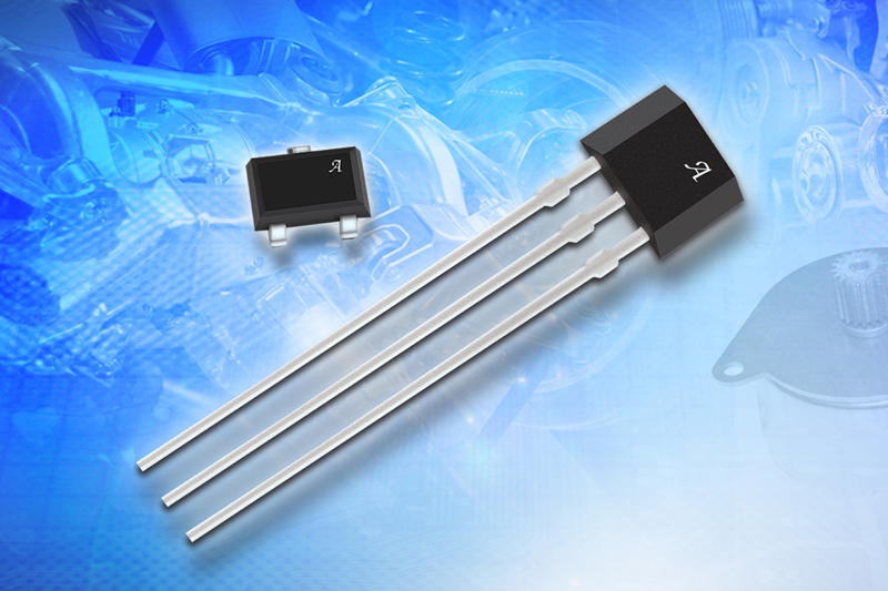 Bipolar Hall-effect switch offers excellent repeatability