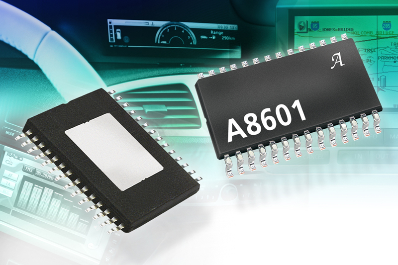 Multi-output voltage regulator IC for LCD display bias in automotive infotainment applications