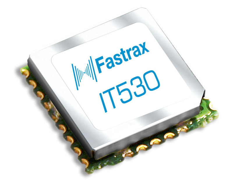 Fastrax IT530 GPS module available from Rutronik now