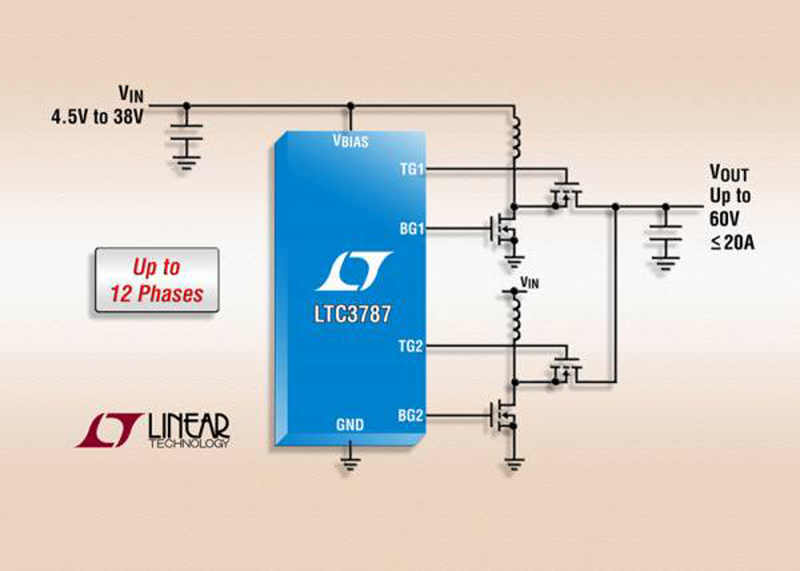 High Power PolyPhase® Synchronous Boost Controller Features -55°C to 150°C Operating Junction Temperature Range