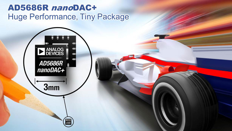 Analog Devices' nanoDAC+™ Converters Offer Industry's Best D/A Converter Performance and Smallest Packages