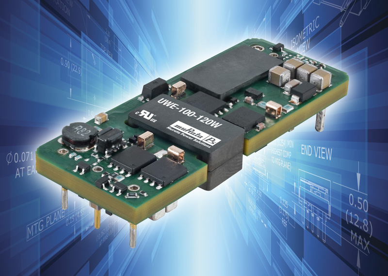 Highly efficient high current eighth-brick DC/DC converters suit high density embedded applications