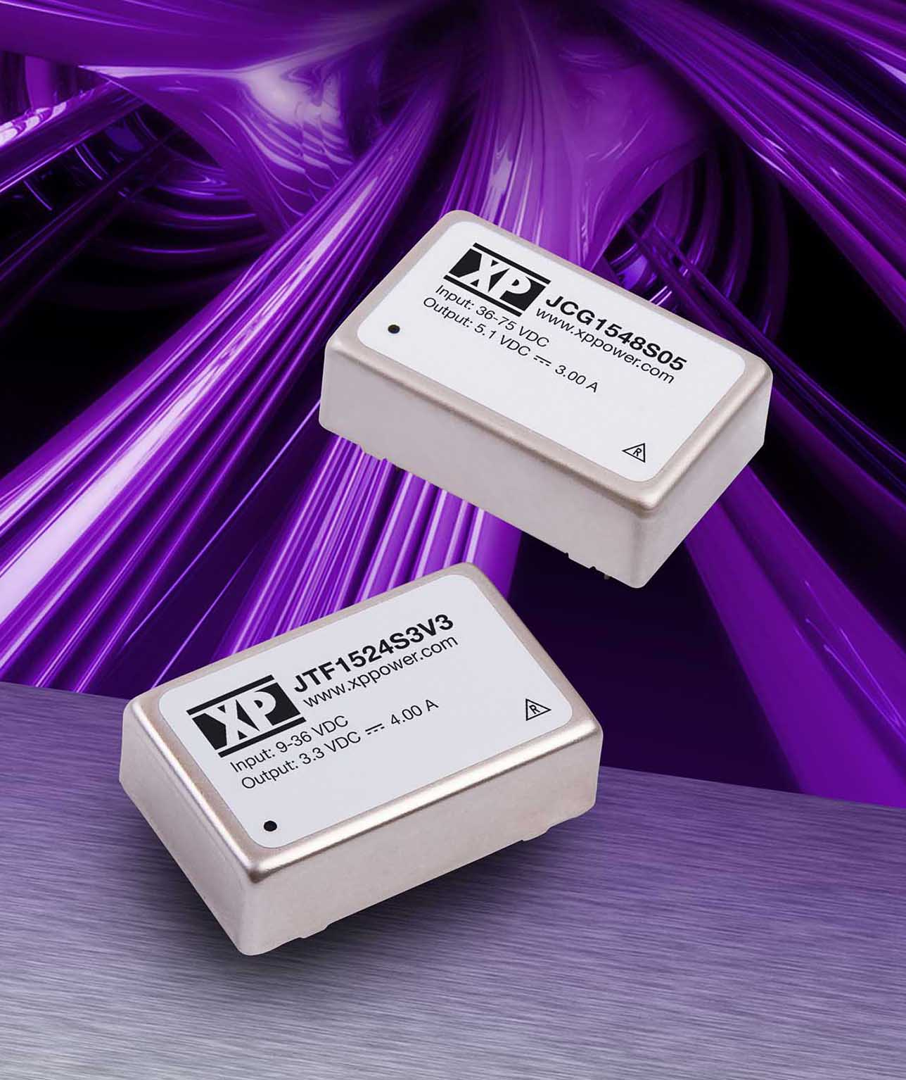 XP Power release 15 Watt DIP24 DC-DC Converters with either 2:1 or 4:1 input ranges
