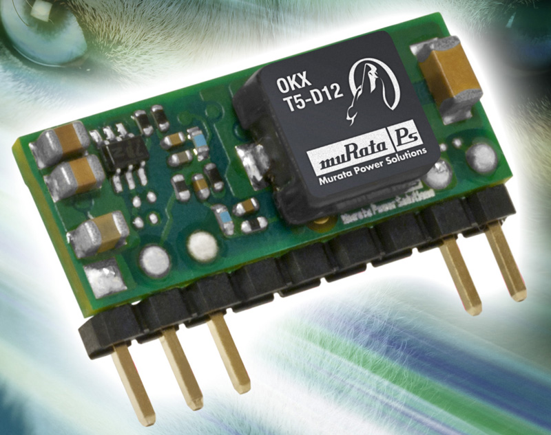 Murata Power Solutions extends point-of-load series to include 3 A and 5 A SIP packages